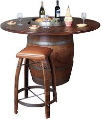 Barrel Bistro Table - Barrel kitchen table
