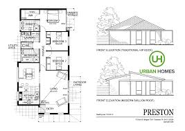 Hip Roof House Plans House Designs Preston Urban Homes Tasmania House Builders In