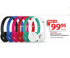 best black friday head phone dr dre deals beats by dr dre drenched solo headphones deal at walmart black