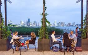 New rooftop wine bar City Vineyard is a Mediterranean oasis on the