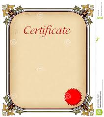 certificate of completion wording agreement format between two