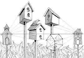 cool bird house plans free home designs nice house plans black white unique simple