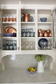 kitchen cabinet with shelves how to style beautiful and functional glass kitchen cabinets
