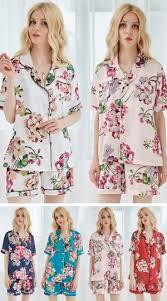 bridesmaid pajama sets set of 7 cheap satin pajamas floral pajama cheap bridesmaid