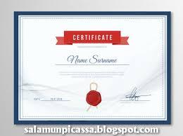 template undangan keren desain sertifikat etame mibawa co