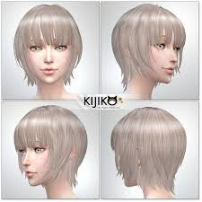 child bob haircut sims 4 137 best sims4 cc hairstyle images on pinterest sims hair