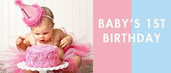 babys birthday ideas inspiration for celebrating baby s 1st birthday