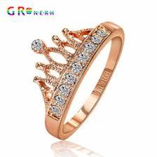 Crown Wedding Rings by Discount Princess Crown Wedding Rings 2017 Princess Crown