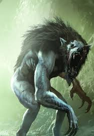 wild hunt witcher 3 werewolf the witcher 3 gwent card art werewolves creepy and monsters