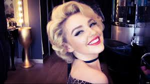 cherry jane with short haircut authentic marilyn monroe wet roller hair set youtube
