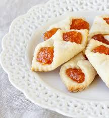 apricot kolaches an hungarian christmas cookie