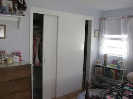 white sliding closet door for small bedroom design decofurnish