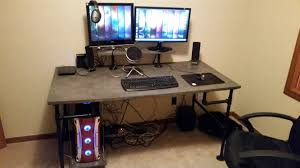 Gaming Desk Setup Ideas Gaming Computer Desk Plans Best Home Furniture Decoration