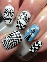 25 best racing nails ideas on pinterest cross nail designs