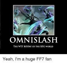 Wtf Boom Meme - 25 best memes about omnislash omnislash memes