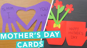 mothers day cards diy s day card ideas nailed it