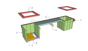 How To Build A Planter by Planter Bench Plans Howtospecialist How To Build Step By Step