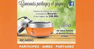 ricardo cuisine concours concours gagnez un bbq ricardo concours en ligne québec