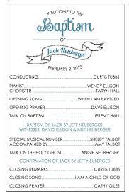 party program template programa bautismal bautismo baptism program and