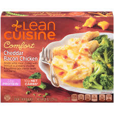 are lean cuisines healthy lean cuisine comfort cheddar bacon chicken 8 oz meijer com
