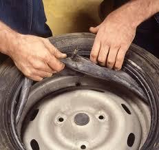 remplacer un pneu avec chambre à air all pages