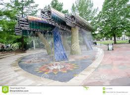 Oklahoma City Botanical Garden by Thunder Fountain Editorial Image Image 41513680