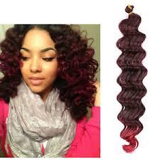 hair crochet 22 80g crochet braids bulk hair weft wave synthetic crochet