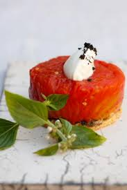 comment cuisiner le coeur de boeuf la recette du chef aveyronnais tomate cœur de bœuf confite au