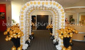 black and gold decorations favors ideas