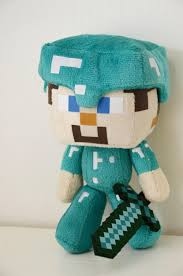 diamond steve best minecraft diamond steve plush stuffed doll 7 inches great