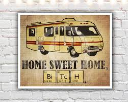 Breaking Bad Poster Home Sweet Home 16 X 20 Paper Print Breaking Bad Poster