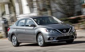 nissan sedan 2016 interior 2016 nissan sentra automatic test u2013 review u2013 car and driver