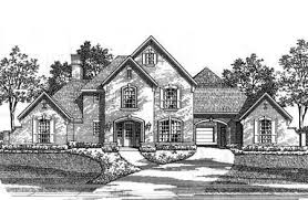 Cottage House Plans With Porte Cochere by Classic French Country Estate Home 15410hn Architectural