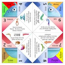 done by a wonderful children u0027s author cootie catcher fortune