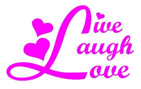 amazon com live laugh love car window vinyl decal sticker 5