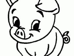 perfect coloring pages pig 46 drawings coloring