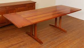 cherry trestle dining table