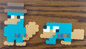 perry the platypus diy fuse bead kits and figures