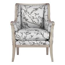 Dwell Armchair Modest Maven Vintage Blossom Wingback Chair