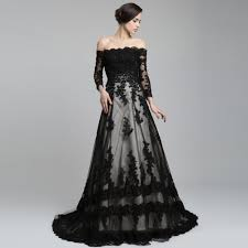 amazing black wedding dress for you dresscab