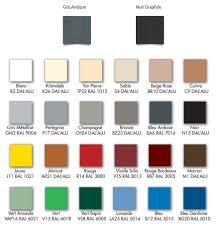 db gouttières nuancier de couleurs pour gouttières à peymeinade