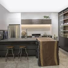 comptoir ciment cuisine cuisine bois beton cheap sol de cuisine bton cir with cuisine bois