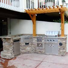 Patio Grills Built In Triyae Com U003d Backyard Built In Grill Ideas Various Design