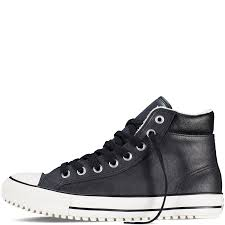 converse mens shoes chuck taylor all star boot pc black white
