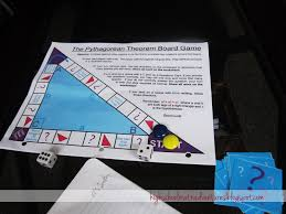 high math adventures with mrs b pythagorean theorem board