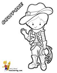 ride u0027em cowboy coloring free coloring for kids westerns