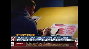 Fischer Homes Design Center Erlanger Ky Archbishop Moeller High Student Wins National Car Design