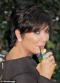 kris jenner hairstyles front and back collections of back of kris jenners hair cute hairstyles for girls