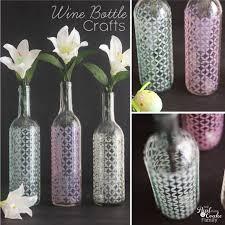 Diy Wine Bottle Decor by Wine Bottle Crafts Diy Diy Project