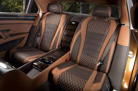 bentley continental interior back seat bentley flying spur w12 khamun across rear cabin cars bentley